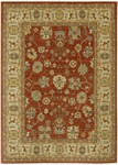 Couristan Woven Treasures 0033/0313 All Over Vase Burnished Rust/Ivory Closeout Area Rug