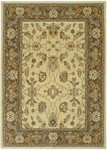 Couristan Woven Treasures 0051/0383 Antique Oushak Ivory/Mocha Closeout Area Rug