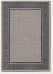 Couristan Tides 0058/4004 Astoria Charcoal/Grey Closeout Area Rug - Spring 2017