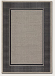 Couristan Tides 0058/4008 Astoria Black/Grey Closeout Area Rug - Spring 2017