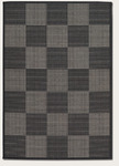 Couristan Tides 0088/4088 Concord Black/Grey Closeout Area Rug - Spring 2017