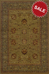 Oriental Weavers Allure 008D1 Green Closeout Area Rug