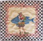 Peel & Company Needlepoint 01-VN Closeout Area Rug