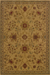Oriental Weavers Allure 013C1 Gold Area Rug