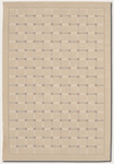 Couristan Marco Island 0168/0001 Sand Closeout Area Rug - Spring 2011