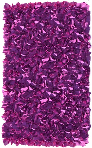 Rug Market Kids Shag 02288 Shaggy Raggy Neon Plum Purple