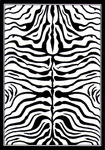 United Weavers Safari 030 30070 Zebra Closeout Area Rug