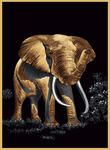 United Weavers Safari 030 88170 Elephant Closeout Area Rug