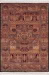 Couristan Kashimar 0600/3300 Imperial Ferahan Brown Sienna/Teal Closeout Area Rug