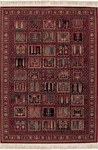 Couristan Kashimar 0613/3339 Shalamzer Antique Red Closeout Area Rug