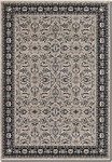 Couristan Bacara 0696/0502 Camryn Cream/Ebony Closeout Area Rug - Spring 2015