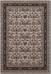 Couristan Bacara 0698/0600 Mandana Beige/Charcoal Closeout Area Rug - Spring 2015