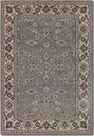 Couristan Bacara 0702/0310 Tahari Pewter/Beige Closeout Area Rug - Spring 2015