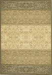Couristan Everest 0865/5857 Wrought Iron Scroll Classic Ivory Sage Closeout Area Rug - Spring 2010