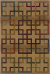 Oriental Weavers Genesis 096J1 Gold/Multi Area Rug