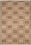 Couristan Recife 1009/3000 Cubic Field Natural/Cocoa Closeout Area Rug