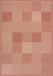 United Weavers Solarium 101 40129 Patio Block Terracotta Area Rug