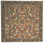 Peel & Company Needlepoint 1040 Antique Closeout Area Rug