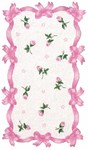 Rug Market Kids 11259 Samantha White/Pink Closeout Area Rug