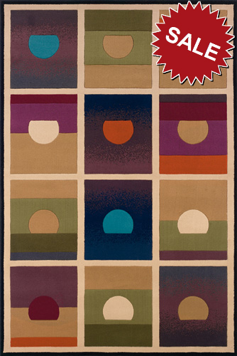 Oriental Weavers Andy Warhol Pop Abstracts 112x Setting