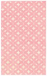 Rug Market Kids Tween 11547 Coco Pink/White Closeout Area Rug