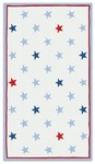 Rug Market Kids 11564 Mini Star Red/White/Blue Closeout Area Rug