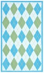 Rug Market Kids 11733 Haywood Blue/Green Closeout Area Rug