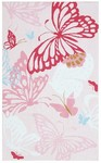Rug Market Kids 11737 Papillon Pink/Red Closeout Area Rug