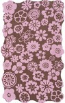 Rug Market Kids Tween 11752 Pentunia Brown/Pink Area Rug