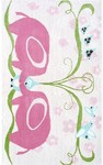 Rug Market Kids 11783 Elephant Love Pink/Green/Blue Closeout Area Rug