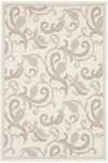 Couristan Recife 1180/7184 Paisley Scroll White/Natural Closeout Area Rug - Spring 2010