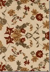 Couristan Botanique 1182/0035 Harper Ivory Closeout Area Rug - Spring 2015