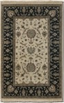 Couristan Jangali 1207/0207 All Over Isfahan Antique Ivory-Black Closeout Area Rug - Spring 2011
