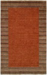 HRI European 1233 Rust Closeout Rug