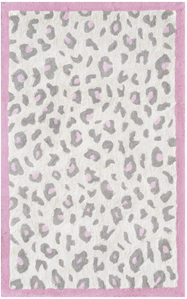rug market kids safari 12387 cheatico pink cream grey pink. Black Bedroom Furniture Sets. Home Design Ideas