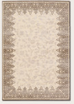 Couristan Pave 1240/0219 Vivienne Cream/Silver Closeout Area Rug - Spring 2013