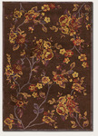 Couristan Pave 1241/0375 Belle Rose Mahogany/Garnet Closeout Area Rug - Spring 2013