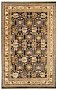 Couristan Lahore 1266/2568 Antique Kazak Black Ivory Closeout Area Rug - Spring 2011