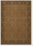 Couristan Baroque 1331/1013 Emerson Fawn/Cocoa/Golden Yellow Closeout Area Rug - Spring 2011