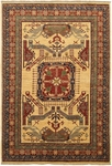 Couristan Lahore 1363/2467 All Over Vase Camel Closeout Area Rug - Spring 2011