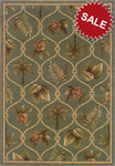 Oriental Weavers Hudson 1369D Green Closeout Area Rug