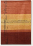 Couristan Rythmia 1414/2220 Sublimity Miso Red Closeout Area Rug - Spring 2013