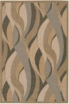Couristan Recife 1562/0154 Seagrass Natural/Black Closeout Area Rug - Spring 2016