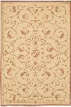 Couristan Recife 1583/1112 Veranda Natural/Terra-Cotta Closeout Area Rug - Spring 2016