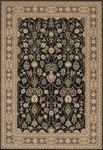 Couristan Chanterelle 1718/0004 Sarouk Black Closeout Area Rug