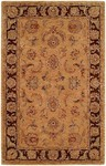 HRI Palace 1763 Gold/Brown Area Rug