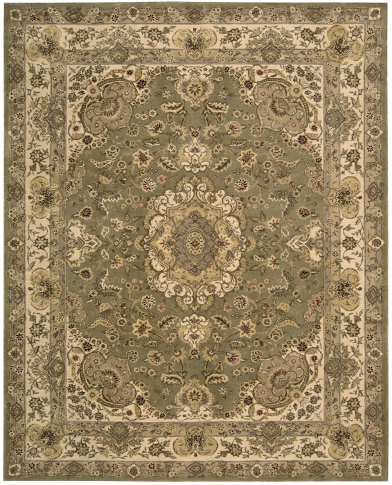 Nourison 2000 Collection 2028 Olive Area Rug Rugs A Bound