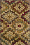 Oriental Weavers Genesis 2061J Multi Closeout Area Rug