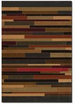 Couristan Contempo 2062/0062 Tetris Multi Color Closeout Area Rug - Spring 2011