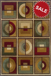 Oriental Weavers Genesis 2066J Multi Closeout Area Rug
